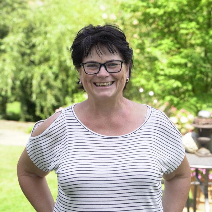 Mitarbeiterin Brigitte Schneider