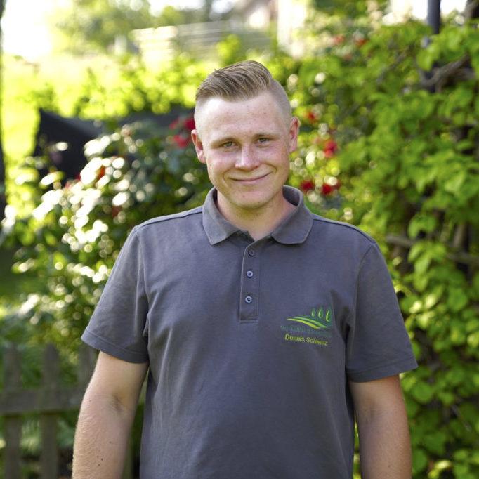 Unser Mitarbeiter Dennis Schwarz