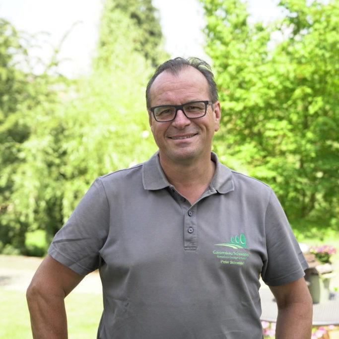 Unser Mitarbeiter Peter Schneider